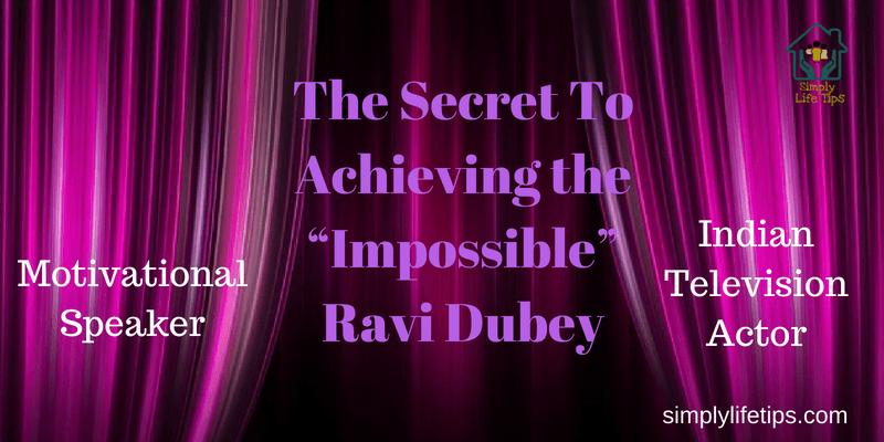 Ravi Dubey Motivationa Speaker Actor