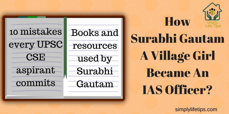 Surabhi Gautam A Village Girl Became An IAS Officer