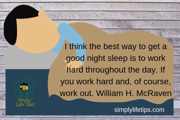 William H. McRaven Sleep Quote