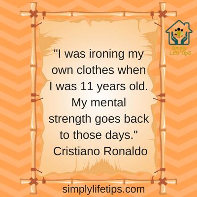 Mentally Strong Parents Cristiano Ronaldo Quote