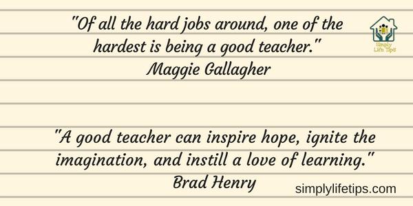 Great Teacher Qualities