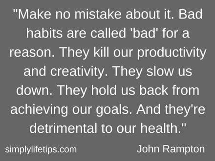 How To Overcome Bad Habits | 6 Easy Ways To Break Bad Habits 1
