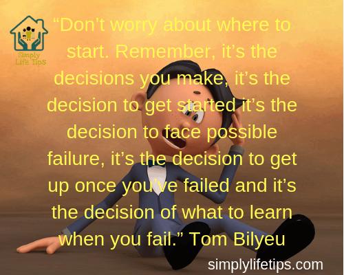 Tom Bilyeu Inspiring Story Quotes