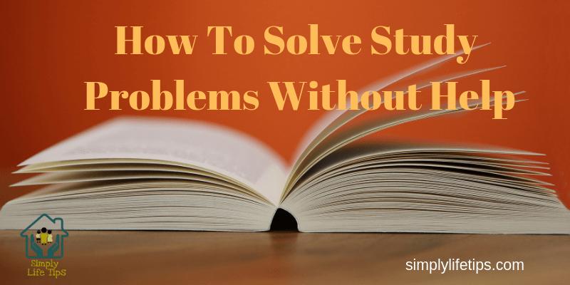 Solve Study Problems