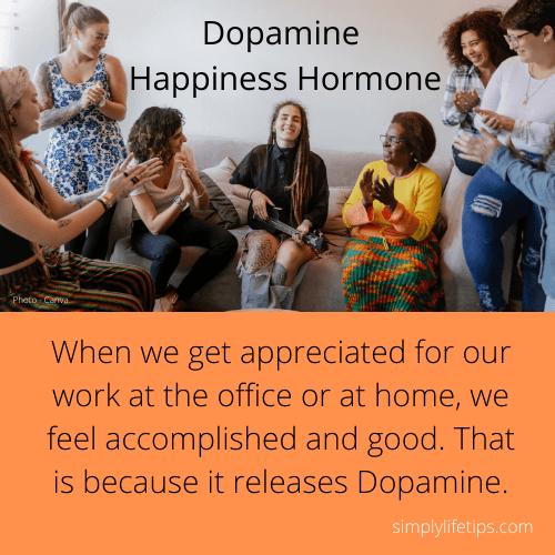 appreciation Dopamine Happiness Hormone