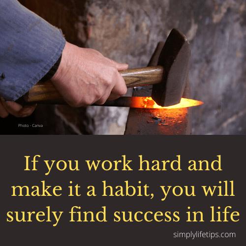 Overcome Stress Hard Work