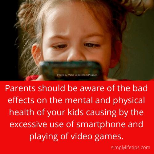 Kids smartphone video games