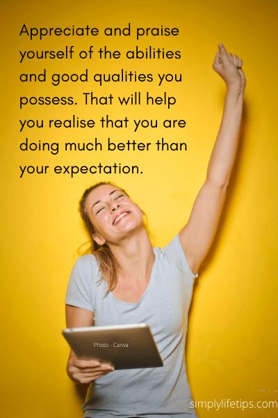 habits appreciate praise