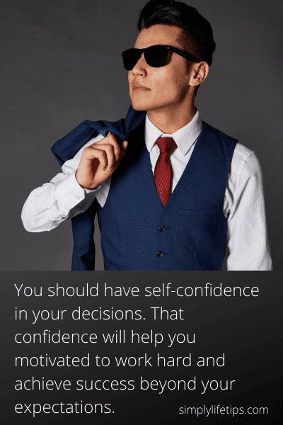 Indecisiveness stop bad habits