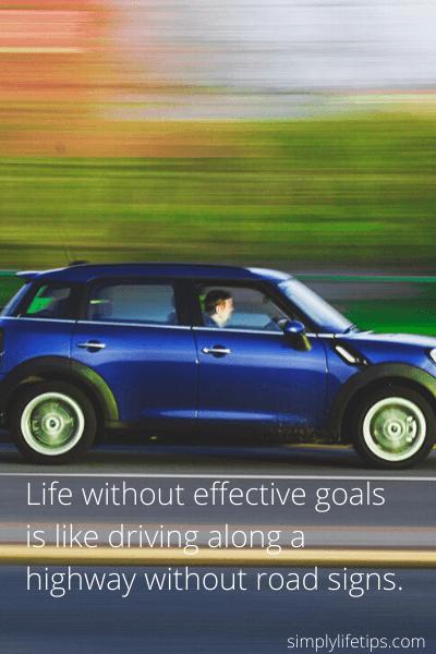 Stop Bad Habits - effective goals