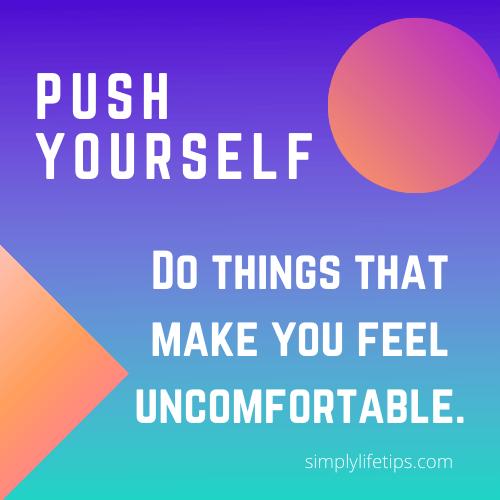 Push Yourself - Success Habits