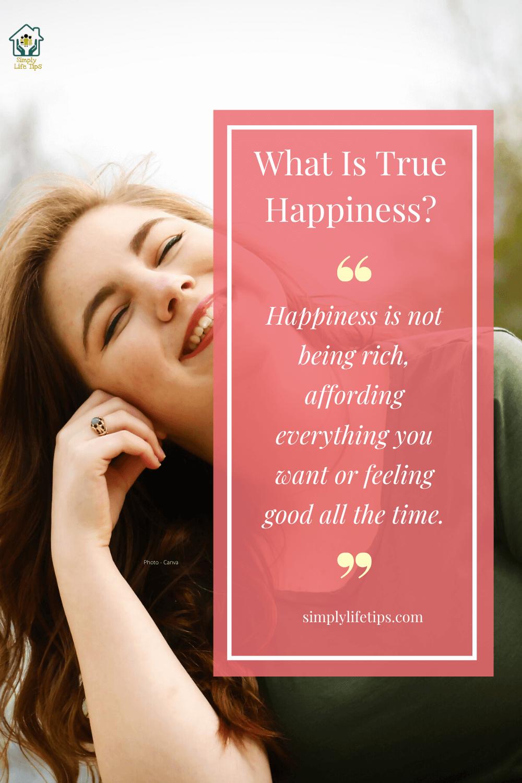True Happiness Quote