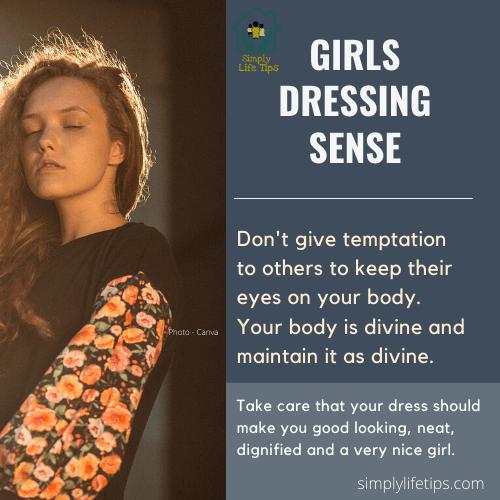 Girls Dressing Sense