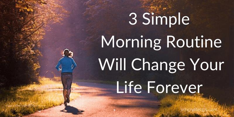Simple Morning RoutineSimple Morning Routine exercise meditation