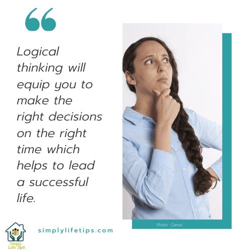 logical thinking Life skill memory