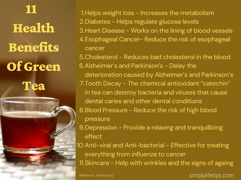 Health Benefits Of Green Tea Immunity Booster