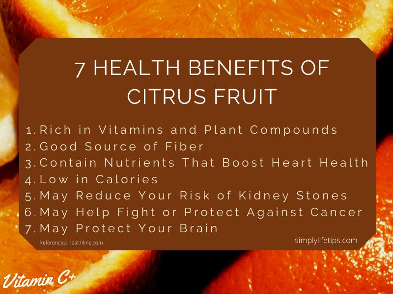 Health Benefits Of Citrus Fruits Immunity Improving Foods