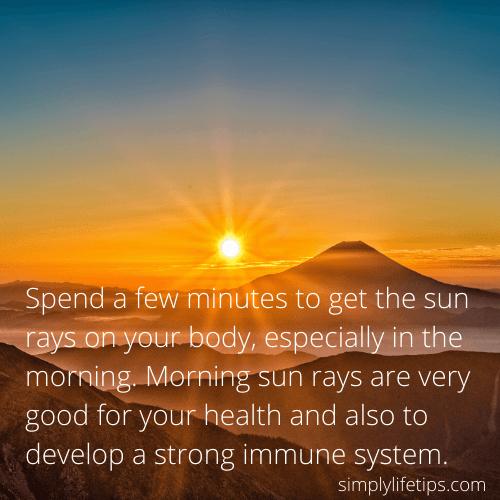 Benefits Of Sun Rays Best Doctors