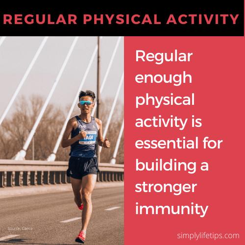 Physical Activity Immunity Immune System Habits Damage Immunity