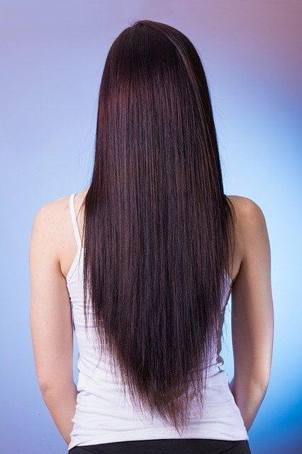 Healthy hair - spinach
