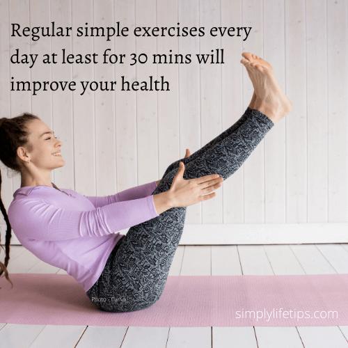 Regular Exercise good health best doctors