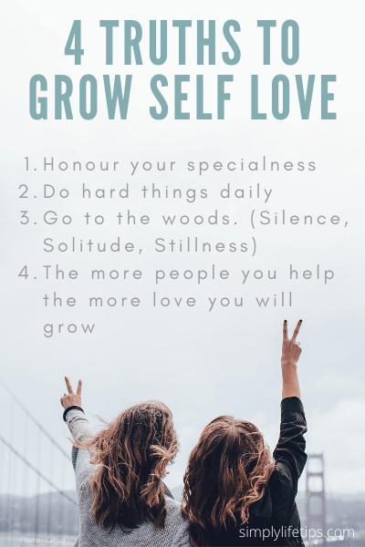 Self-Love silence solitude