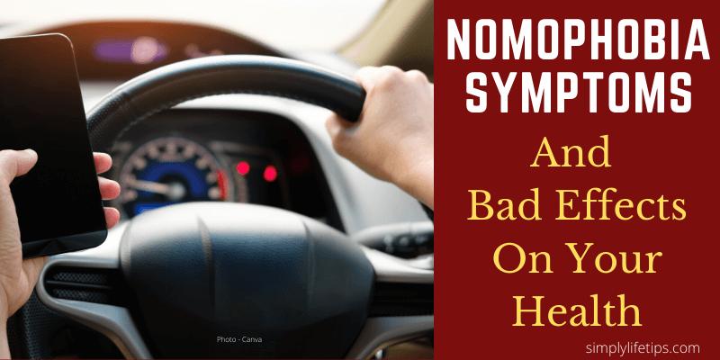 Nomophobia Symptoms