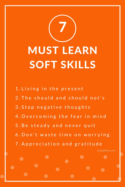7 Must Learn Soft Skills