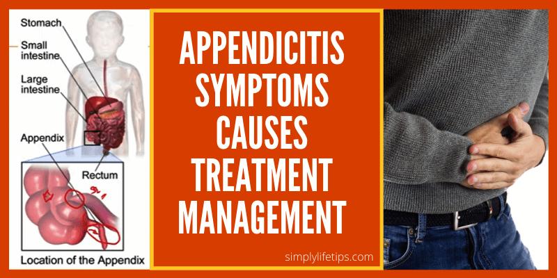 Appendicitis Symptoms Causes Treatment Management