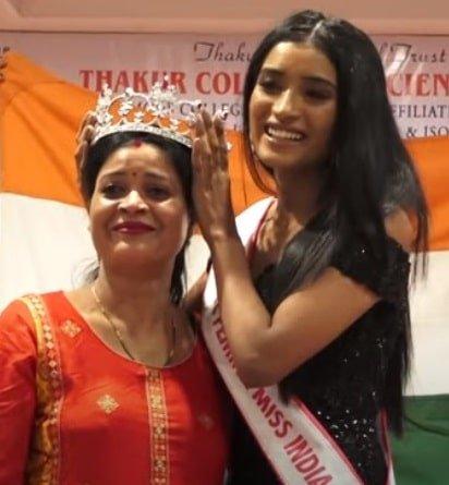 Manya Singh Mother Crown
