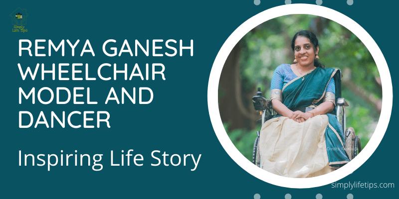 Remya Ganesh Wheelchair Model And Dancer