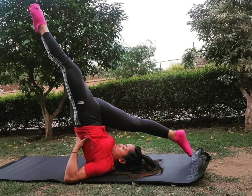 Workout Mirabai Chanu